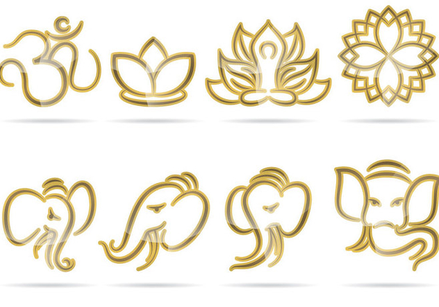 Indian Logos - vector gratuit #367003