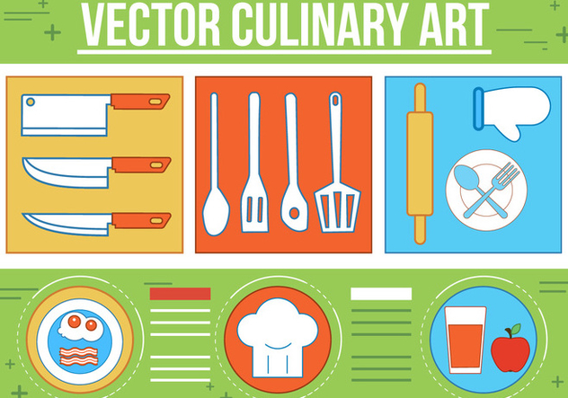 Free Culinary Vector Art - бесплатный vector #367073