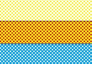 Free Polka Dot Background Vector - vector #367233 gratis