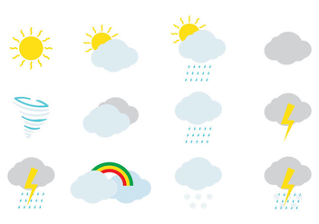Weather Icon - vector #367253 gratis
