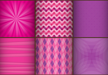 Purple Vector Abstract Backgrounds - vector #367263 gratis