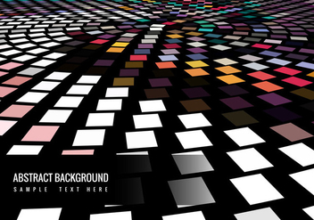 Vector Colorful Mosaic Background - vector #367423 gratis