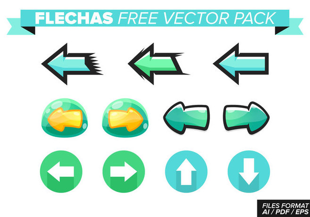 Flechas Free Vector Pack - Free vector #367663