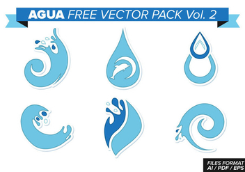 Agua Free Vector Pack Vol. 2 - Free vector #367733