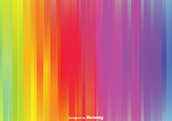 Rainbow Vector Background - vector #367853 gratis