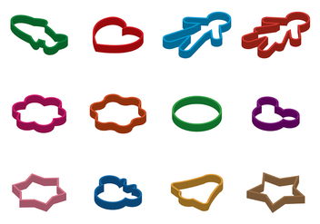 Free Cookie Cutter Vector - vector gratuit #367963