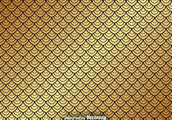 Vector Gold Seamless Pattern On Black Background - Kostenloses vector #367973