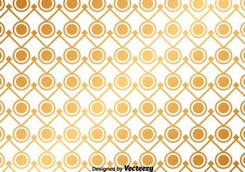 Vector Golden Abstract Pattern - vector gratuit #367993