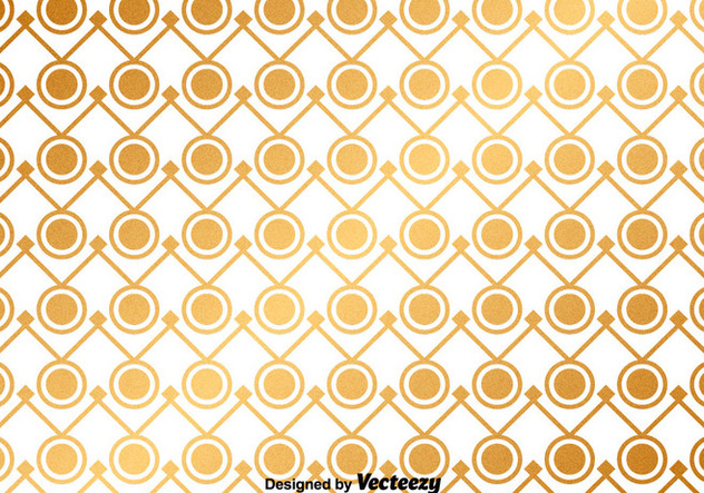 Vector Golden Abstract Pattern - Kostenloses vector #367993