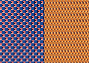 Geometric 3D Vector Pattern - бесплатный vector #368203