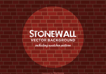 Free Stonewall Vector Background - Kostenloses vector #368393