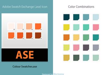 Free Vector Illustrator Color Swatches - vector #368403 gratis
