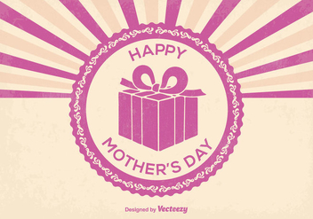 Happy Mother's Day Illustration - бесплатный vector #368773