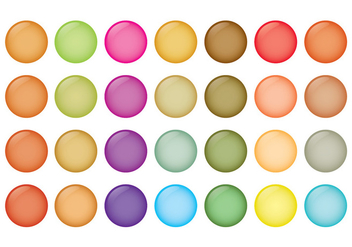 Smarties Vector Set - vector #368843 gratis