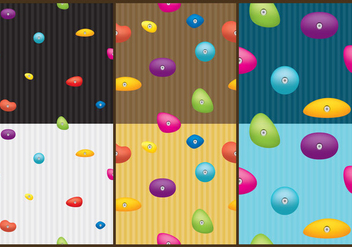 Climbing Wall Patterns - Free vector #368943