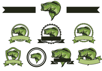Free Bass Fish Vector - бесплатный vector #368963