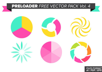 Preloader Free Vector Pack Vol. 4 - vector #369043 gratis