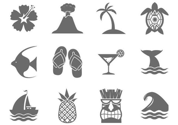 Free Hawaii Vector - Free vector #369083