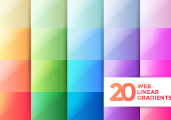 Web Linear Gradients - vector gratuit #369263