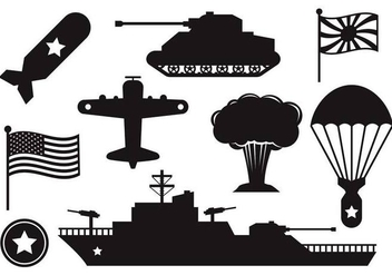 Free World War 2 Vector - vector #369293 gratis