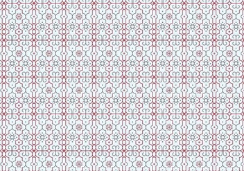 Outlines Decorative Pattern - бесплатный vector #369323