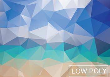 Multicolor Geometric Low Poly Vector Background - Free vector #369433