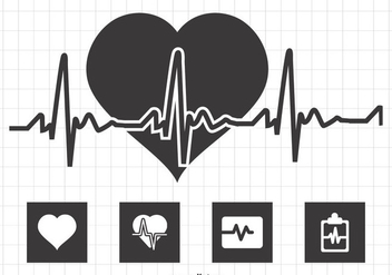 Heart Monitor Illustration - бесплатный vector #369603
