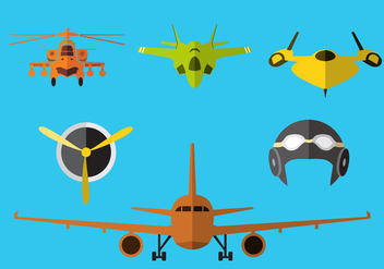 Avion Illustration Vector - Free vector #369633