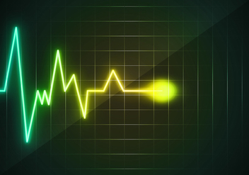 Heart Monitor Wave Free - бесплатный vector #369733