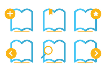 Read More Icon Vector Set - Free vector #369973