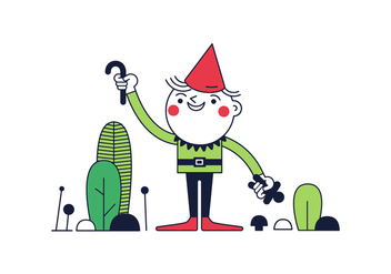 Free Gnome Vector - Free vector #370443