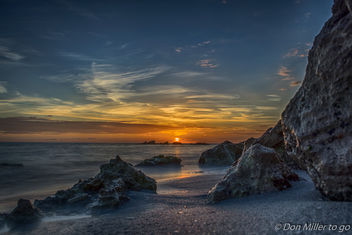 Caspersen Beach Sunset - image #370723 gratis