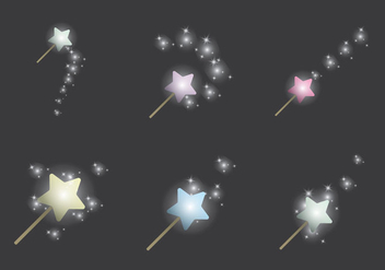 Free Pixie Dust Vector Illustration - бесплатный vector #370773