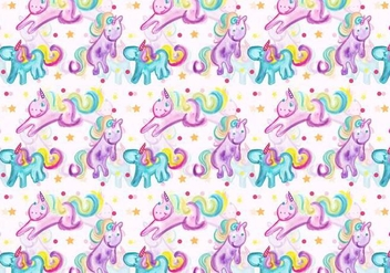 Free Vector Unicorn Pattern - бесплатный vector #371013