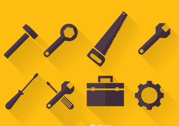 Tools Icons Vector - vector gratuit #371153
