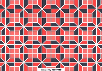 Tiles With Geometrical Random Shapes Vector Background - бесплатный vector #371173