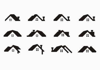 Free Black Rooftops Vector - бесплатный vector #371563