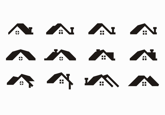 Free Black Rooftops Vector - Free vector #371563