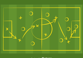 Football Playbook Vector - бесплатный vector #371583