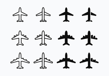 Free Avion Silhouette Vector - Free vector #371803