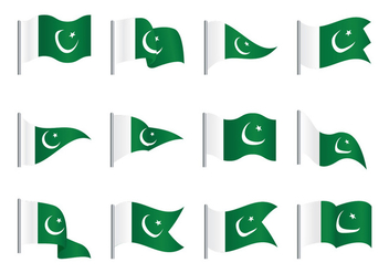 Pakistan Flag - vector #371813 gratis
