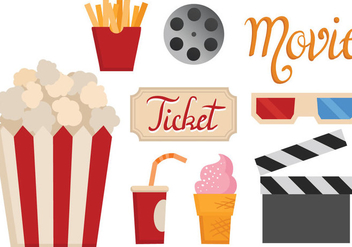 Free Movie Vectors - vector gratuit #372173