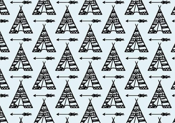 Free Vector Tipi Pattern - Free vector #372573