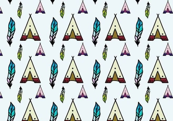 Free Vector Tipi Pattern - Free vector #372683