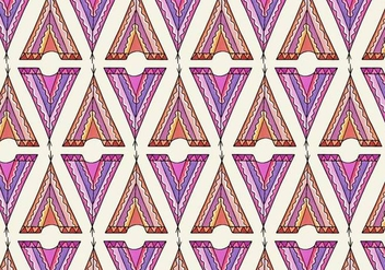 Free Vector Tipi Pattern - Free vector #372693