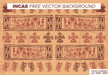 Incas Free Vector Background - vector #372953 gratis
