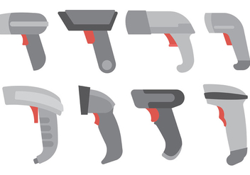 Free Barcode Scanner Icons Vector - Kostenloses vector #373473