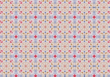 Outline Motif Pattern - Free vector #373833