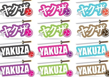 Yakuza Titles - Free vector #374213