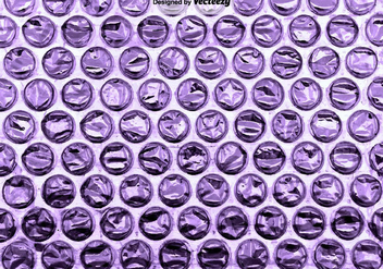 Bubble Wrap Vector Background - Kostenloses vector #374383